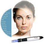 Elmask Electric Rechargeable A1 Micro Needles Derma Pen with 2 Cartridges