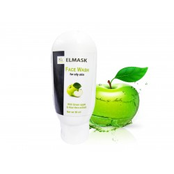 Elmask Skin Purfying & Brighting Green Apple Face Wash for oily Skin Face